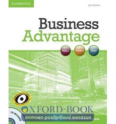 Книга Business Advantage Upper-Intermediate Personal Study Book with Audio CD 9780521281300 купить Киев Украина