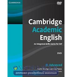Cambridge Academic English Advanced DVD ISBN 9780521165310 купить Киев Украина