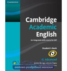 Учебник Cambridge Academic English c1 Advanced students book Hewings M 9780521165211 купить Киев Украина