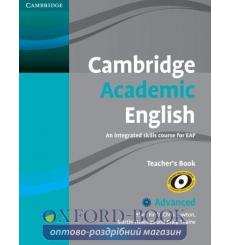 Книга для учителя Cambridge Academic English C1 Advanced Teachers Book Firth, M 9780521165273 купить Киев Украина