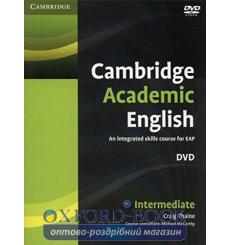 Cambridge Academic English B1+ Intermediate DVD Thaine, C ISBN 9780521165280 купить Киев Украина