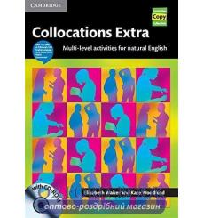 Collocations Extra Book with CD-ROM Multi-level Activities for Natural English ISBN 9780521745222 купить Киев Украина