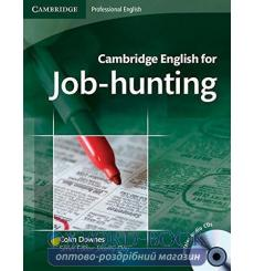 Учебник Cambridge English for Job-hunting Students Book with Audio CDs (2) ISBN 9780521722155 купить Киев Украина
