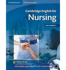 Учебник Cambridge English for Nursing Intermediate Students Book with Audio CD ISBN 9780521715409 купить Киев Украина