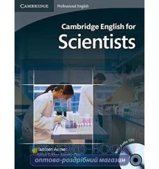 Учебник Cambridge English for Scientists Intermediae Students Book with Audio CDs (2) ISBN 9780521154093 купить Киев Украина