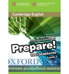 Cambridge English Prepare! 7 Test Generator CD-ROM