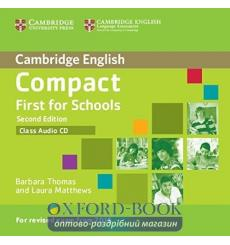 Compact First for Schools Class CD 2nd Edition 9781107415744 купить Киев Украина