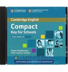 Compact Key for Schools Class CD ISBN 9781107618688 купить Киев Украина
