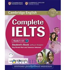Учебник Complete IELTS Bands 5-6.5 Students Book without key with CD-ROM with Testbank ISBN 9781316602003 купить Киев Украина