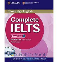 Тетрадь Complete IELTS Bands 5-6.5 workbook with Answers with Audio CD Harrison M 9781107401976 купить Киев Украина