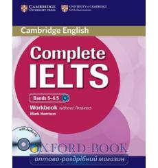 Тетрадь Complete IELTS Bands 5-6.5 workbook without Answers with Audio CD 9781107401969 купить Киев Украина