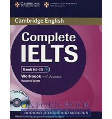 Тетрадь Complete IELTS Bands 6.5-7.5 workbook with Answers with Audio CD Wyatt R 9781107634381 купить Киев Украина