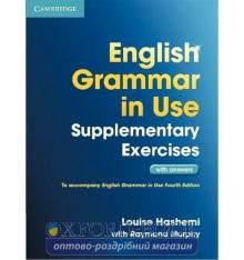 Грамматика English Grammar in Use 3rd Edition Supplementary Exercises WITH answers ISBN 9781107616417