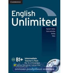 English Unlimited Intermediate Teachers Pack (with DVD-ROM) Clementson, T ISBN 9780521157179 купить Киев Украина