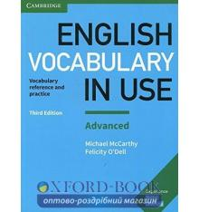Словарь Vocabulary in Use 3rd Edition Advanced with Answers ISBN 9781316631171