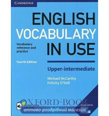 Словарь Vocabulary in Use 4th Edition Upper-Intermediate with Answers and Enhanced eBook McCarthy, M ISBN 9781316631744