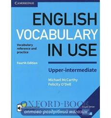 Словарь Vocabulary in Use 4th Edition Upper-Intermediate with Answers and Enhanced eBook McCarthy, M ISBN 9781316631744 купит...