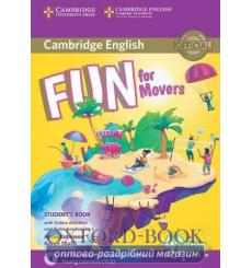 Учебник Fun for Movers Students Book with Online Activities with Audio and Home Fun Booklet 4  3rd Edition 9781316617533 купи...