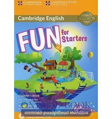 Учебник Fun for Starters Students Book with Online Activities with Audio and Home Fun Booklet 2  3rd Edition 9781316617465 ку...