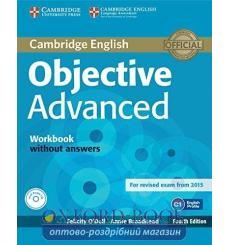 Тетрадь Objective Advanced workbook without Answers with Audio CD ODell, F 3rd Edition 9781107684355 купить Киев Украина