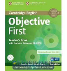 Книга для учителя Objective First teachers book with Teachers Resources CD-ROM Capel, A 3rd Edition 9781107628359 купить Киев...
