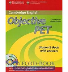 Objective PET 2nd Edition Student's Book with key with CD-ROM