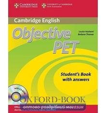 Objective PET 2nd Edition Student's Book with key with CD-ROM with Audio CDs