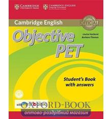 Objective PET 2nd Edition Student's Book with key with CD-ROM with Testbank