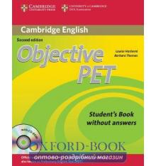 Objective PET 2nd Edition Student's Book without key with CD-ROM