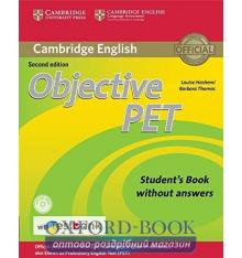 Objective PET 2nd Edition Student's Book without key with CD-ROM with Testbank