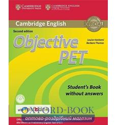 Учебник Objective PET Students Book without key with CD-ROM with Testbank  2nd Edition 9781316602515 купить Киев Украина