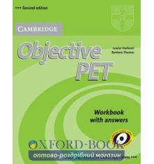 Objective PET 2nd Edition Workbook with key