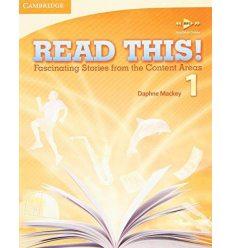 Учебник Read This! 1 Students Book with Free Mp3 Online Mackey, D ISBN 9780521747868