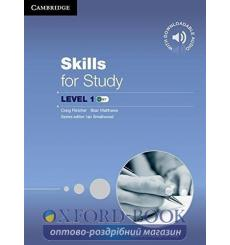 Учебник Skills for Study 1 Students Book with Downloadable Audio 9781107635449 купить Киев Украина