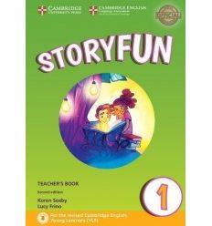 Книга для учителя Storyfun for 2nd Edition Starters Level 1 Teachers Book with Audio Saxby, K ISBN 9781316617069