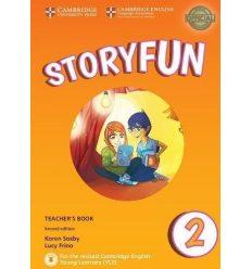 Книга для учителя Storyfun for 2nd Edition Starters Level 2 Teachers Book with Audio Saxby, K ISBN 9781316617090