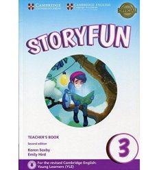 Книга для учителя Storyfun for 2nd Edition Movers Level 3 Teachers Book with Audio Saxby, K ISBN 9781316617182
