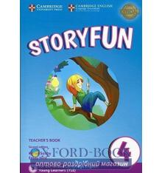 Книга для учителя Storyfun for 2nd Edition Movers Level 4 Teachers Book with Audio Saxby, K ISBN 9781316617199
