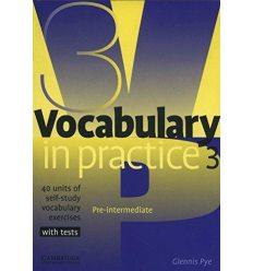 Словарь Vocabulary in Practice 3 ISBN 9780521753753