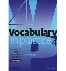Словарь Vocabulary in Practice 4 ISBN 9780521753760