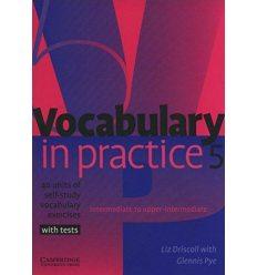 Словарь Vocabulary in Practice 5 ISBN 9780521601252