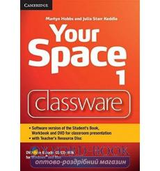 Your Space Level 1 Classware DVD-ROM with Teachers Resource Disc Hobbs, M ISBN 9781107673106 купить Киев Украина