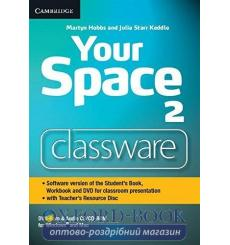 Your Space Level 2 Classware DVD-ROM with Teachers Resource Disc Hobbs, M ISBN 9781107635425 купить Киев Украина