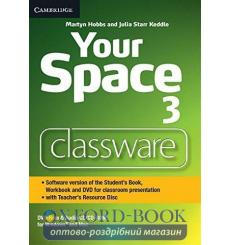Your Space Level 3 Classware DVD-ROM with Teachers Resource Disc Hobbs, M ISBN 9781107660748 купить Киев Украина