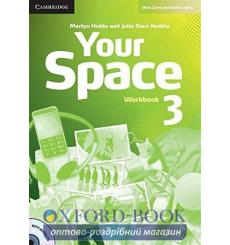 Тетрадь Your Space Level 3 workbook with Audio CD Hobbs M 9780521729345 купить Киев Украина