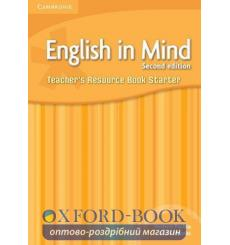Книга English in Mind Starter Teachers Resource Book  3rd Edition 9780521176897 купить Киев Украина
