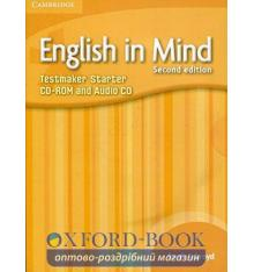 Тесты English in Mind 2nd Edition Starter Testmaker Audio CD/CD-ROM ISBN 9780521172868