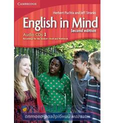 English in Mind 1 Audio CDs (3) Puchta H 2nd Edition 9780521188685 купить Киев Украина