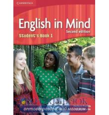 Учебник English in Mind 2nd Edition 1 Students Book with DVD-ROM Puchta, H ISBN 9780521179072