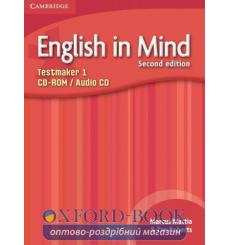 Тесты English in Mind 1 Testmaker Audio CD/CD-ROM Greenwood A 2nd Edition 9780521140355 купить Киев Украина